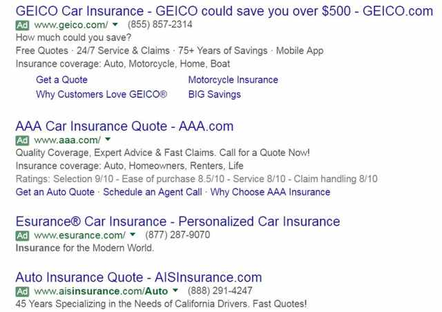 I want to buy 4-pack above the SEO listings - brightedge