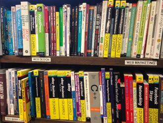 organized books representing structured data