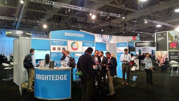 BrightEdge Booth at Adobe Summit 2015 - brightedge