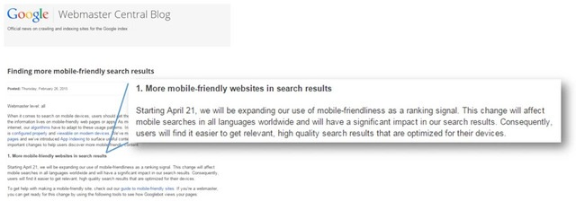 Brightedge Client Communication - Googles Mobile Announcement