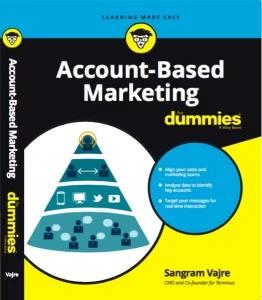 brightedge b2b marketing books - abm for dummies