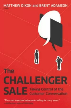 brightedge b2b marketing books - the challenger sale