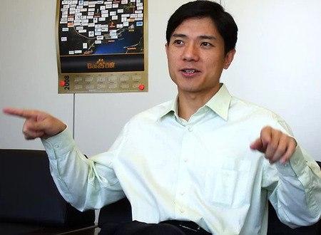 Robin Li speaking on baidu mobile - brighedge