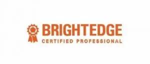 brightedge community certified professional logo