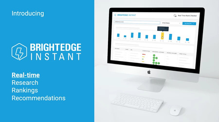 brightedge instant delivers real time rankings, research and recommendations for your SEO strategy