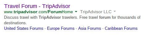 TripAdvisor - create a Forum - brightedge