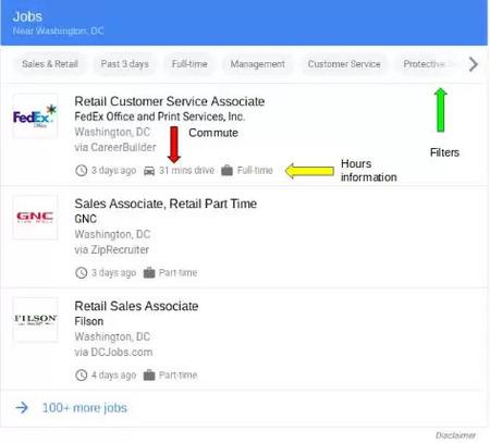 google for jobs impact - brightedge