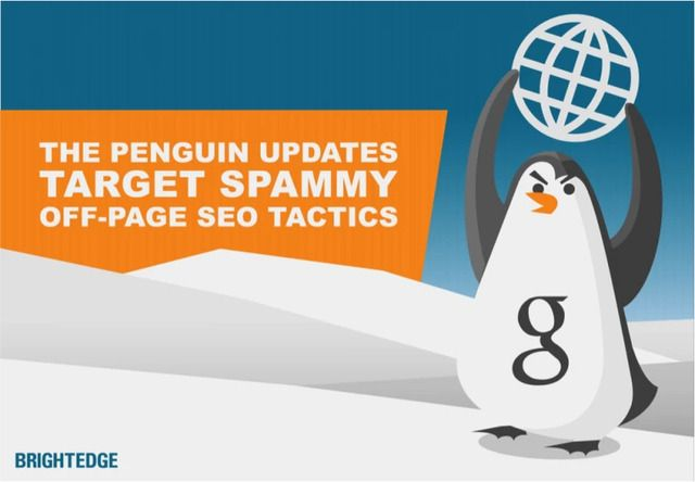 understand the google penguin update with brightedge
