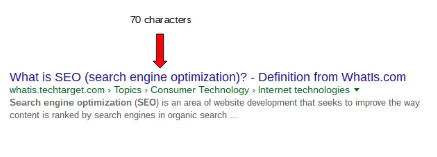 googles serp changes expand page titles to 70 characters - brightedge
