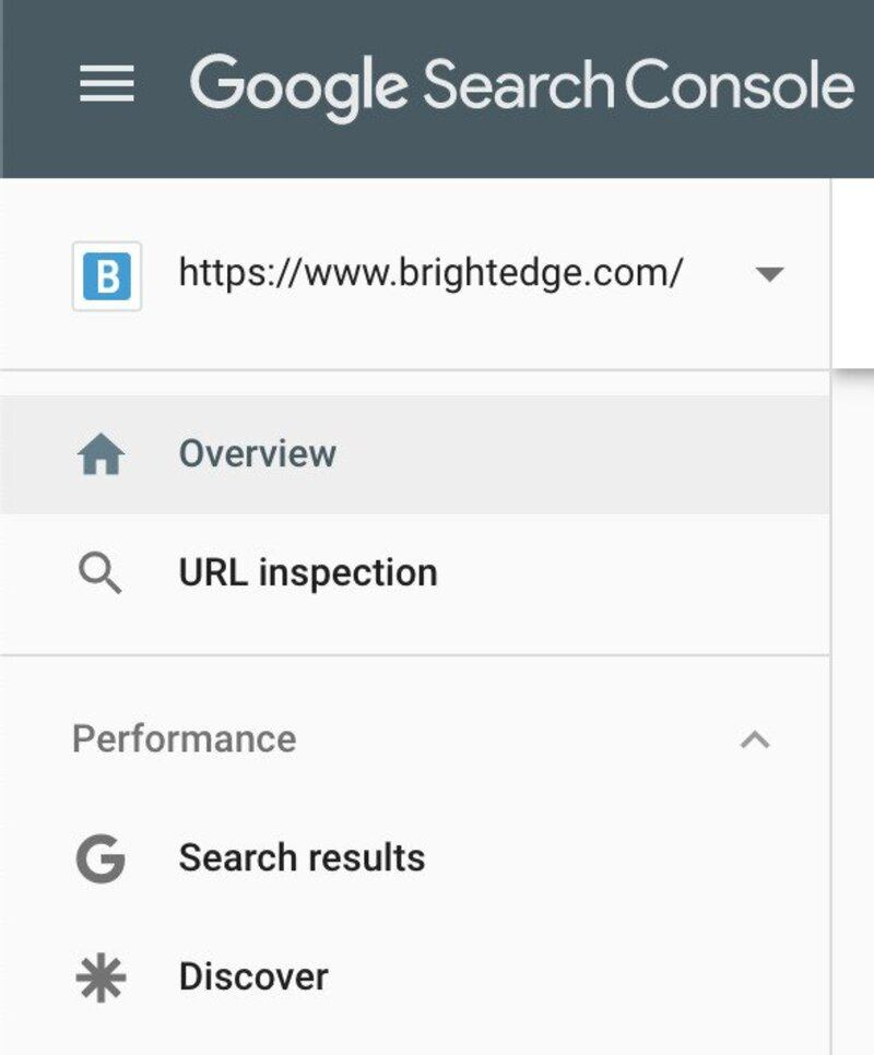 A short guide to google search console - BrightEdge