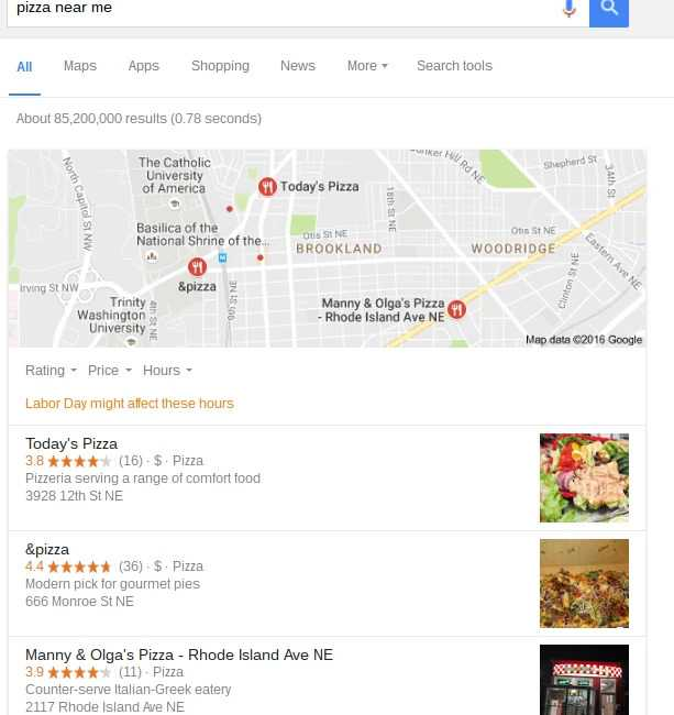 Local search optimization opportunity with the local 3-pack - brightedge