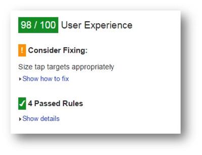 brighetdge dicusses ux mobile friendly score