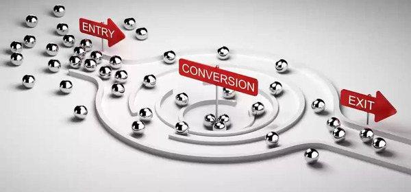 multi-touch attribution visualization of conversion funnel - brightedge