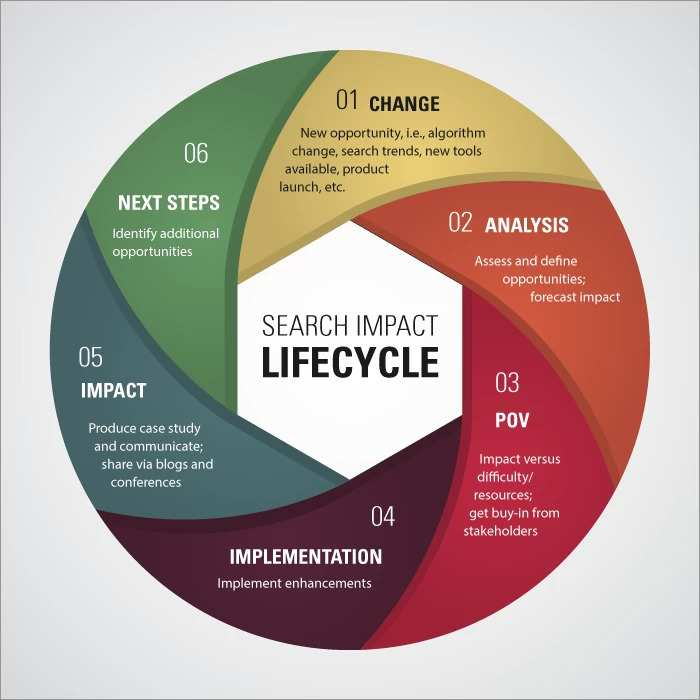 search impact lifecycle graphic - brighetdge
