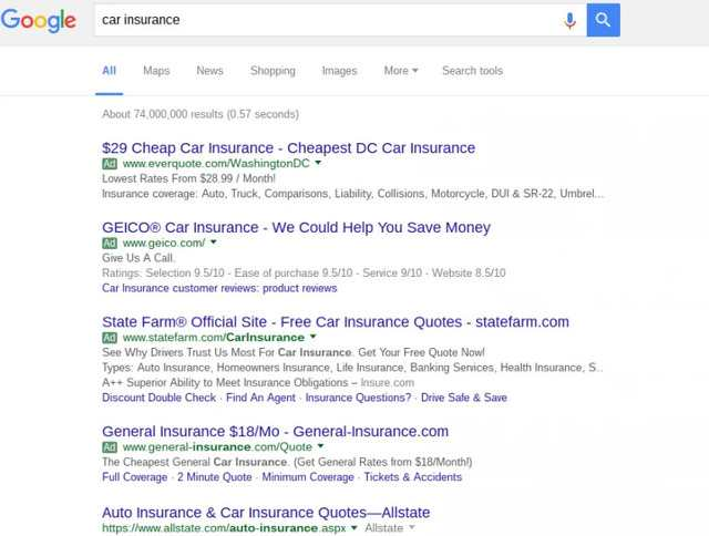 SEO 2016 means more ads at the top of SERPs - brightedge