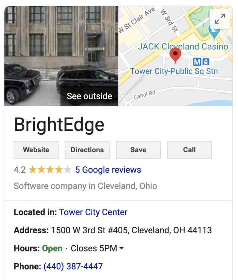 A guide to local citations - BrightEdge