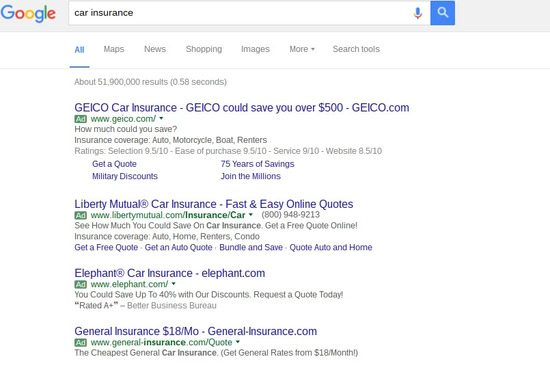 SEO optimization and SEM must work together with new SERP layout - brightedge