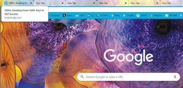 seo title tags are more visible on google - brightedge