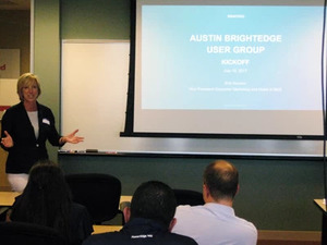 brightedge offers education at seo user groups