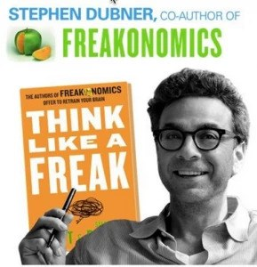 Learn how to think like a freak with Stephen Dubner - BrightEdge