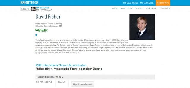 David Fisher Schneider Electric Share15 - brightedge