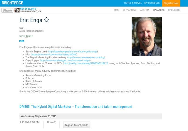 Eric Enge Share15 - brightedge