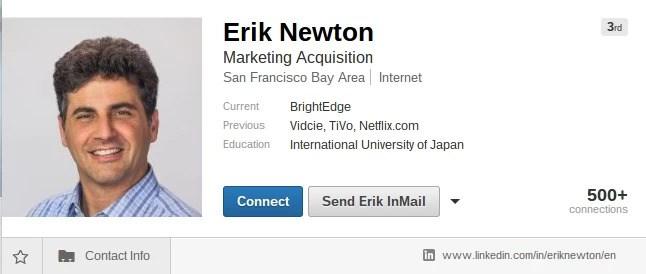 Erik Newton discusses slideshare seo - brightedge