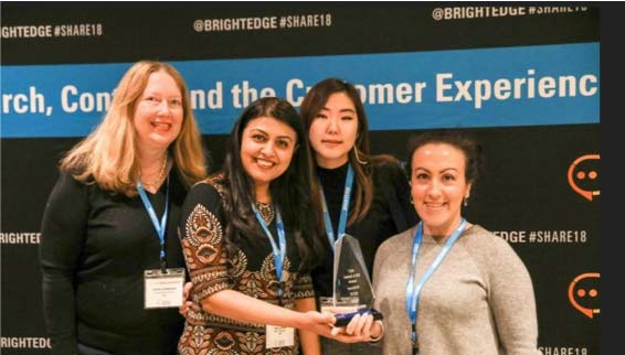 Edgie Awards winners at Share18 London