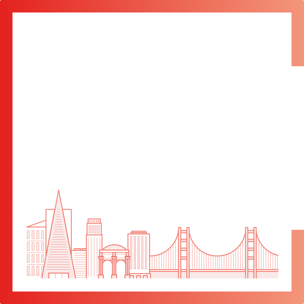San Francisco city graphic