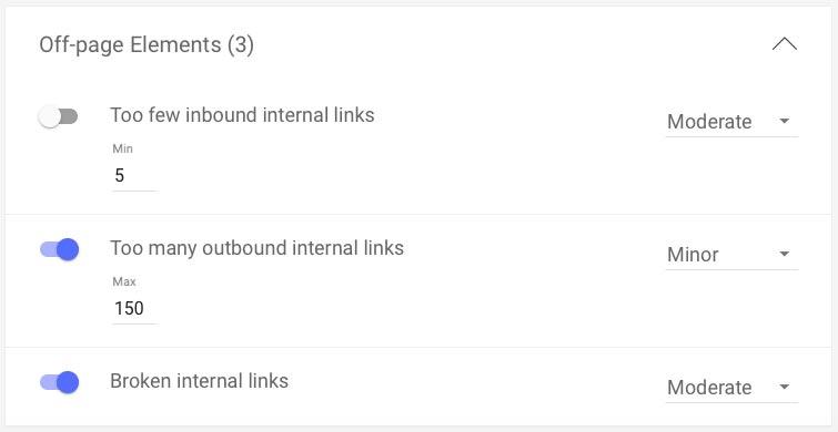 smart content mistakes contentiq link audit screenshot