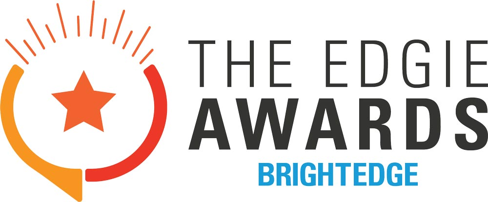 brightedge edgie awards logo
