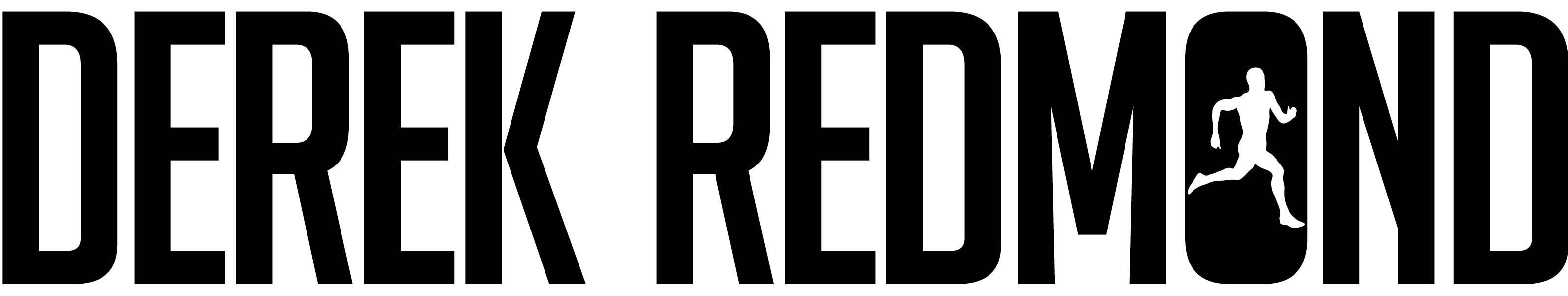 derek redmond logo