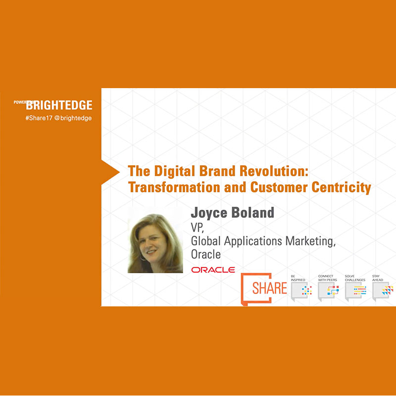 Oracle Uses BrightEdge To Inform Content On The Buyer's
