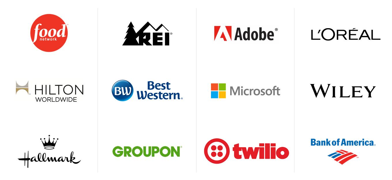 brightedge client logos