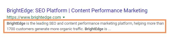 meta description length, what is meta description, meta description - brightedge