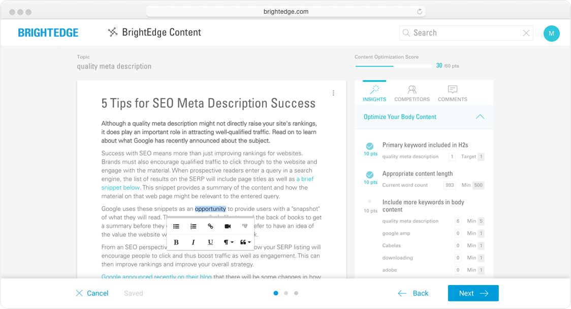 Create Smart Content