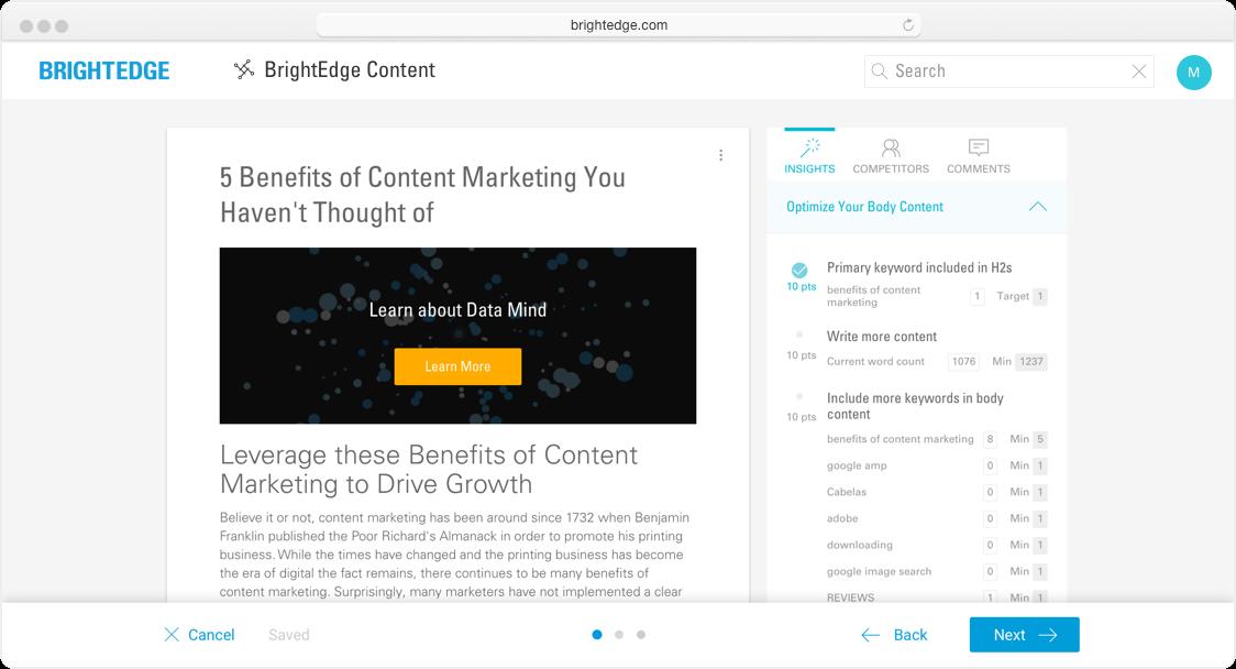 Always Optimized Smart Content