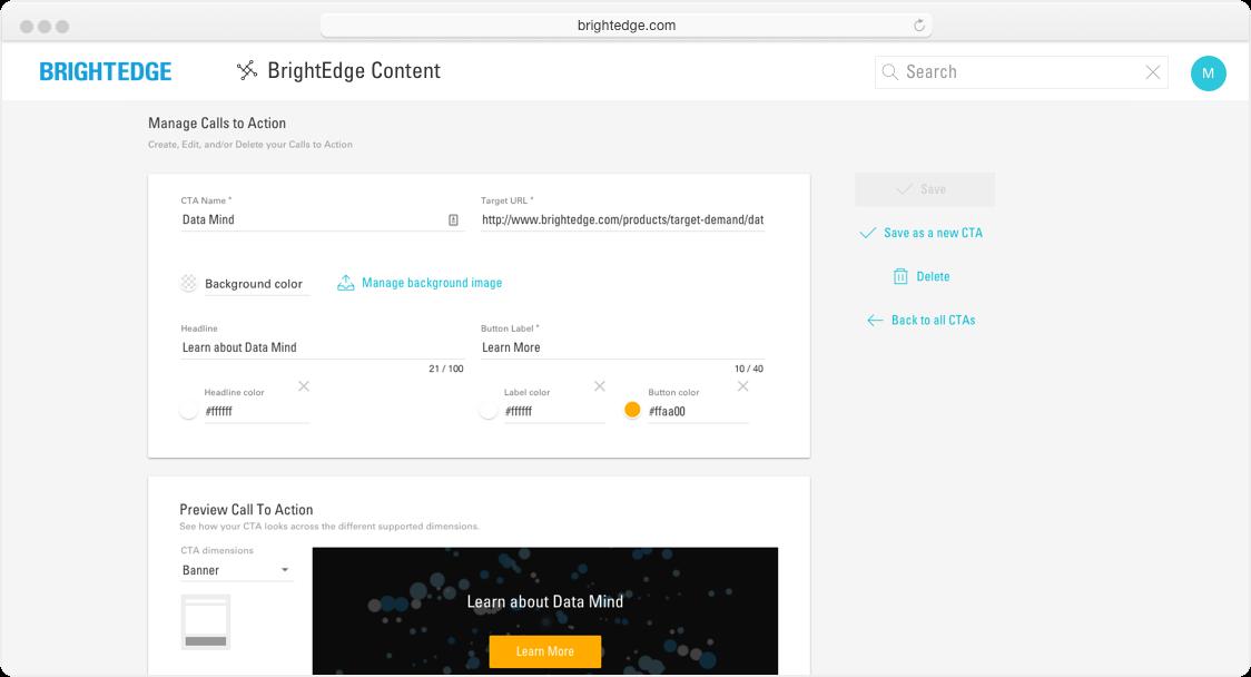 Smart Content CTA's